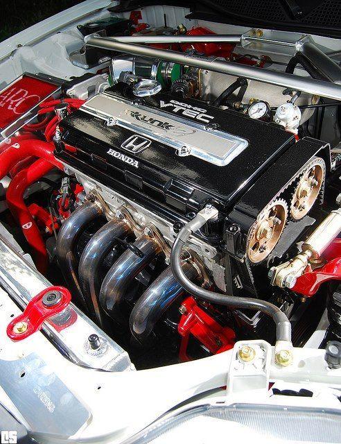 Установка турбины на двигатель