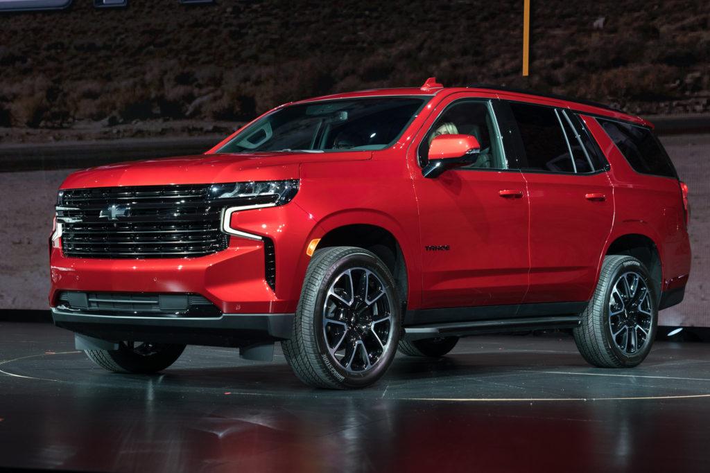 новый Chevrolet tahoe 2020