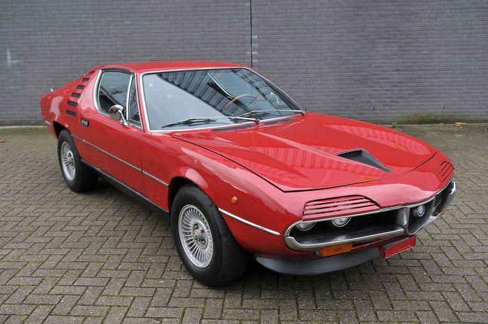 alfa romeo montreral 2.6 v8 1974