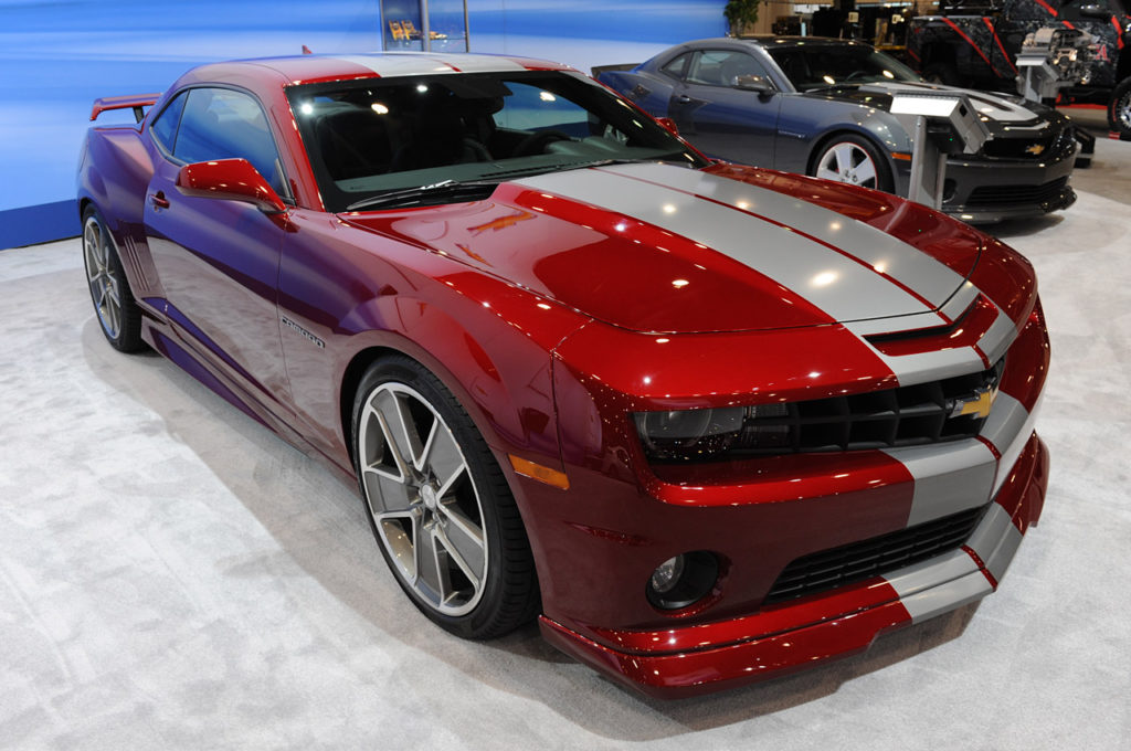 Chevrolet Camaro 2011 Red