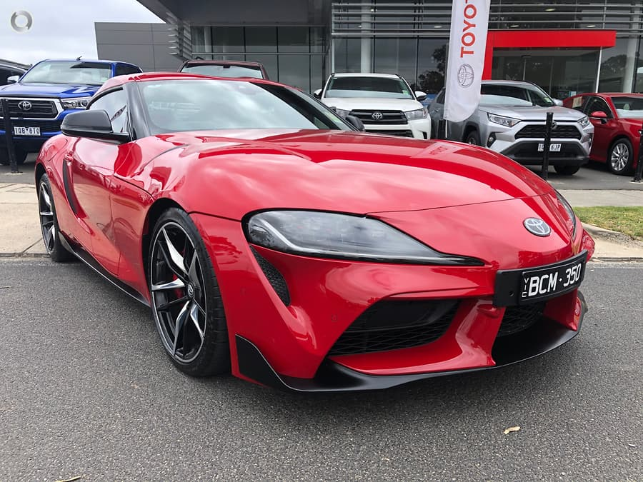 2019 Toyota Supra GR GTS