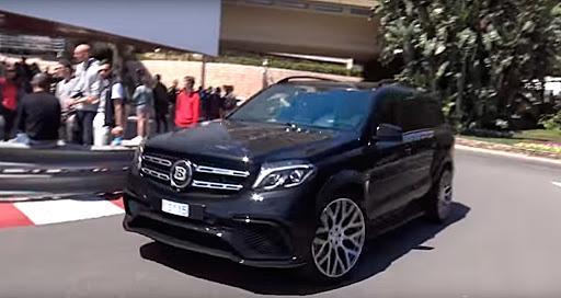 Mercedes Brabus GLS 63