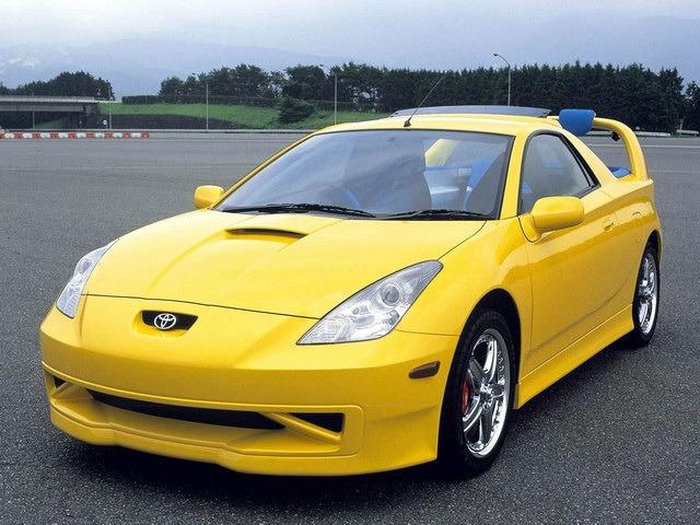 Toyota Celica Cruising Deck Concept 1999