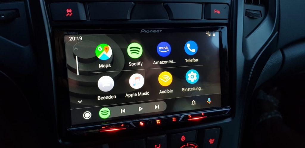 Как установить Android Auto