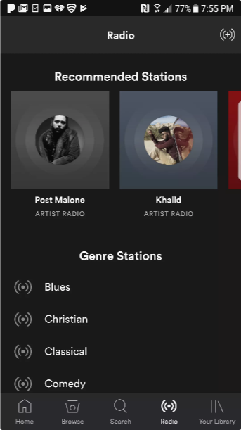 Музыка Spotify