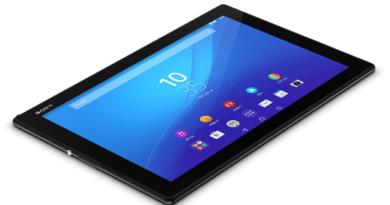 Планшет Sony Xperia tablet Z4