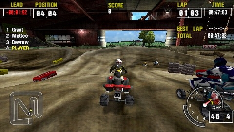 MX vs ATV PSP