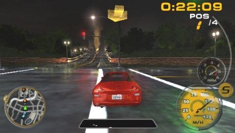 Лучшие гонки на PSP