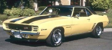 Chevrolet Camaro Z28 1969