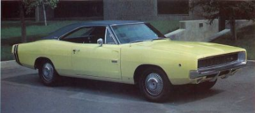 dodge charger r t 1968